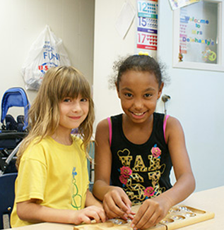 Girls at After-School Program in Lewisville, TX